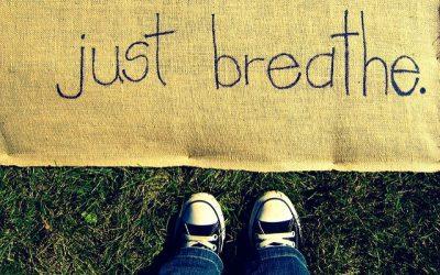 BREATHE LIKE YOU MEAN IT