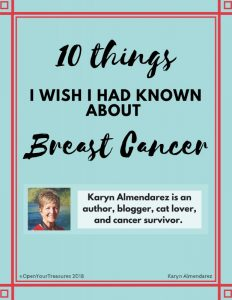 10 Things I Wish I Had Known About Breast Cancer