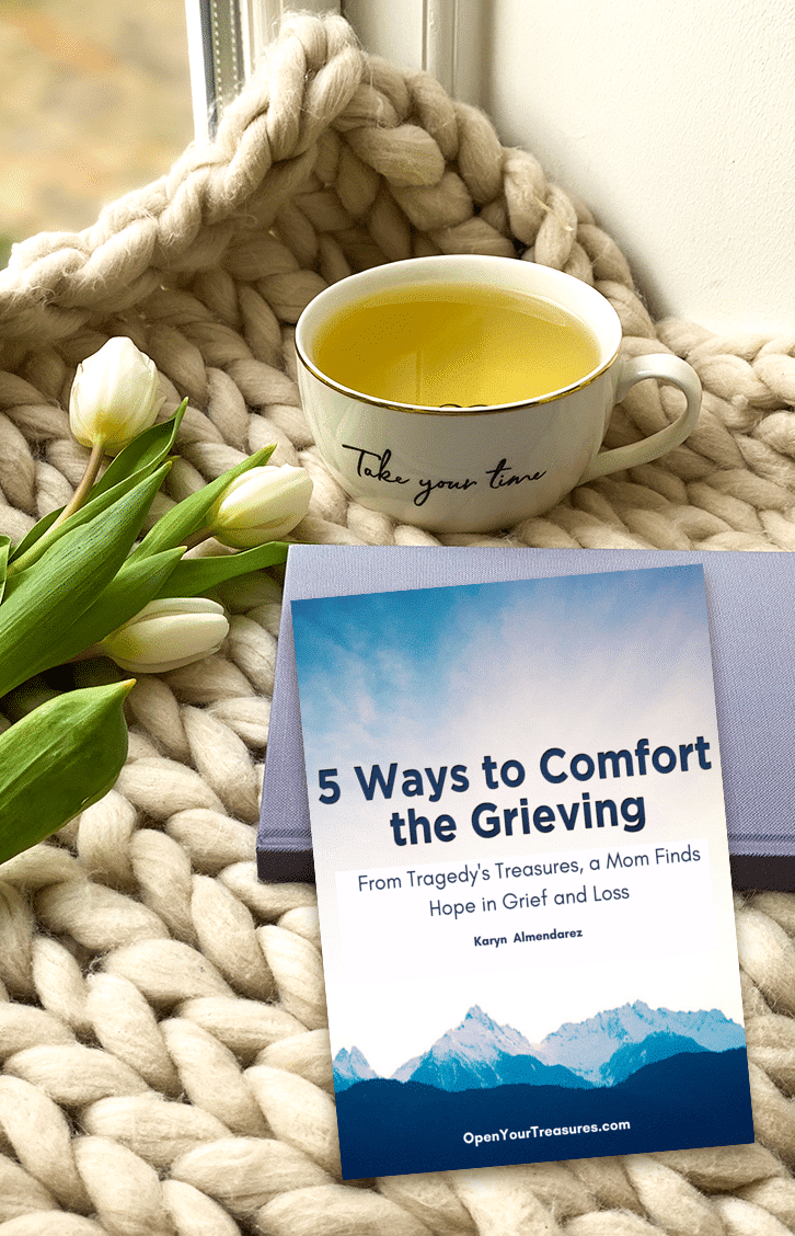 5 ways to comfort the Grieving mockup