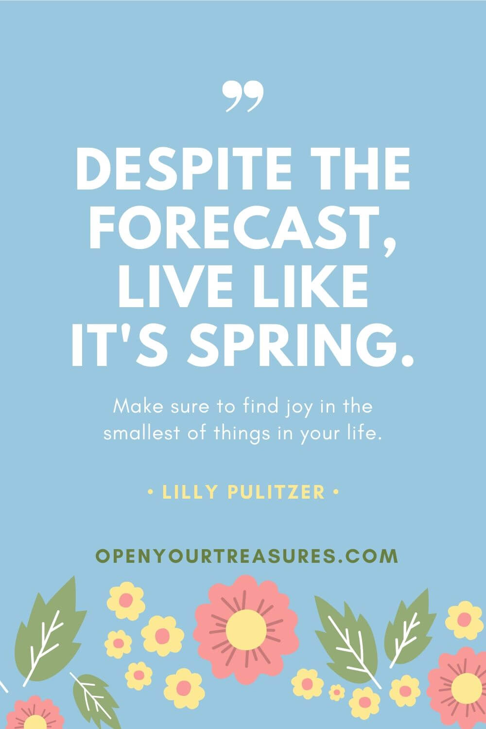 Live Like It's Spring