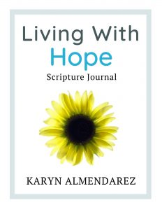 LIVING WITH HOPE JOURNAL COVER